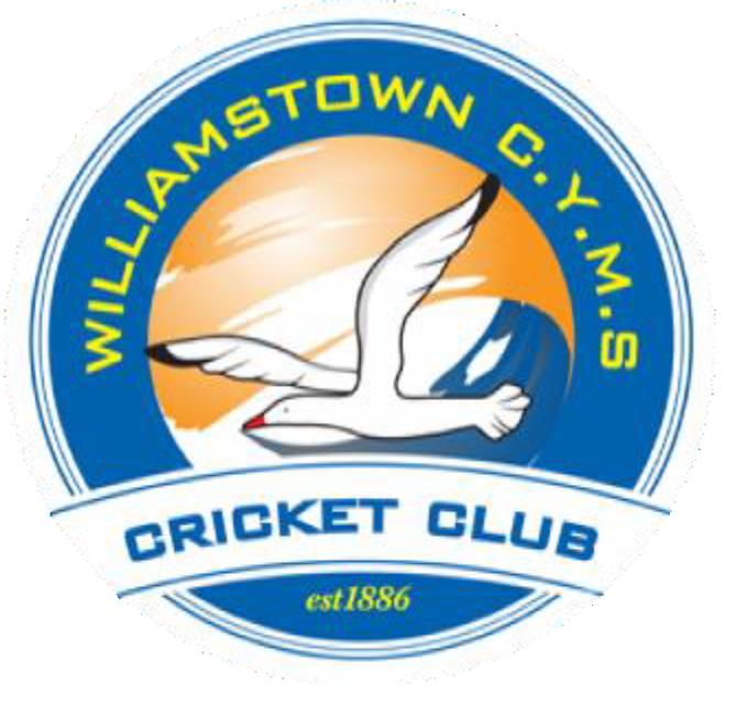 williamstown cyms cricket club logo